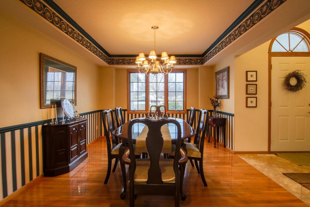 dining room of nice home